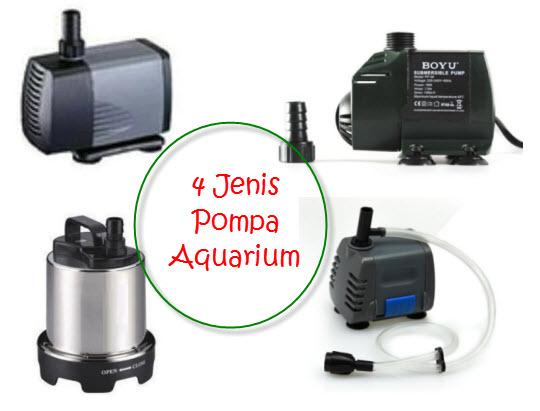 4 Jenis Pompa Aquarium di MatahariMall dan Spesifikasinya