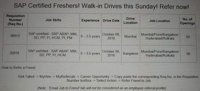Freshers Jobs Security It
