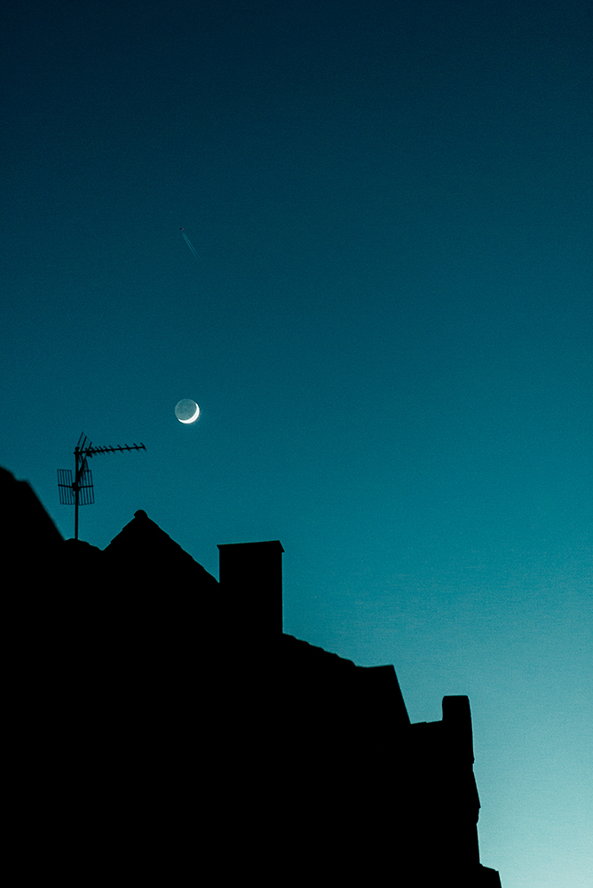 Mond überm Tatort