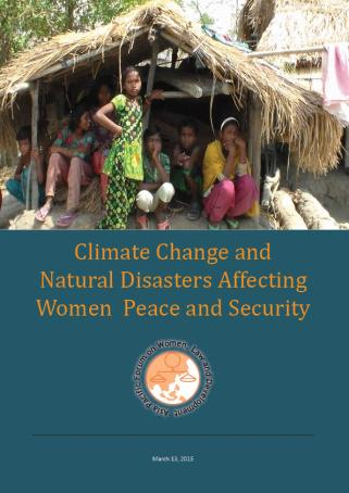 Climate change Natural disasters Conflict