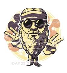 Hippie Vector