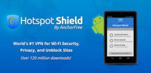 Hotspot Shield VPN 2018-2019