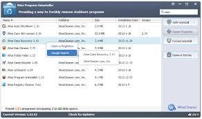 Wise Program Uninstaller 2.22.117