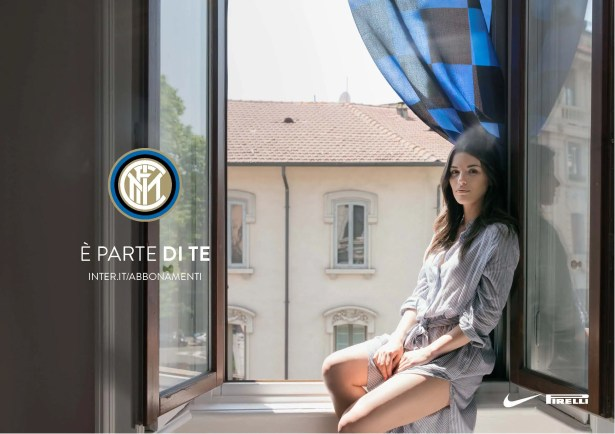 Inter season tickets 2017 photographic campaign