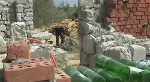 بناء المنازل من المخلفات