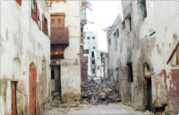 منازل متهالكة في جدة