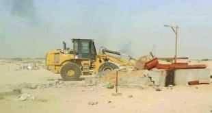 تعديات على الأراضي الحكومية