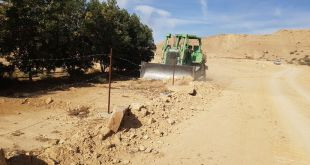 تعديات على الأراضي الحكومية في وادي نيمار