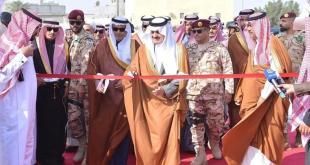 أمير الشرقية يفتتح مشروع تطویر وسط العوامیة بمحافظة القطیف