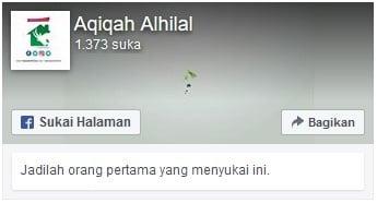 fanspage aqiqah bandung alhilal