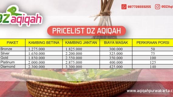 pricelist aqiqah purwakarta