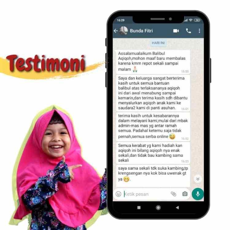 Testimoni Balibul Aqiqoh
