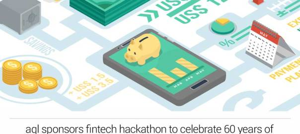 image: aql sponsors fintech hackathon at the University of Leeds