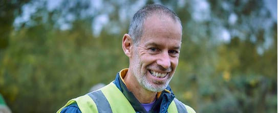 image: Paul Sinton-Hewitt founder of Parkrun
