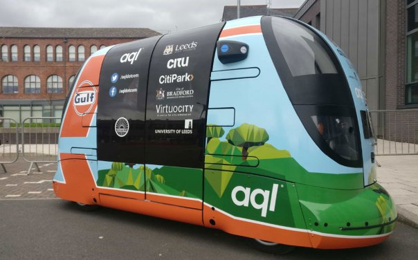 """2018<br><div class=""""forceps"""">aql announces plan to bring 'super-connected' self-driving PODs to Leeds.</div>"""