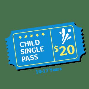 Child Pass Aqua Fun Park Water Fun Park for kids & adults