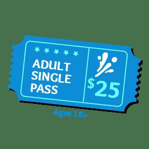 Adult Pass Aqua Fun Park Water Fun Park for kids & adults
