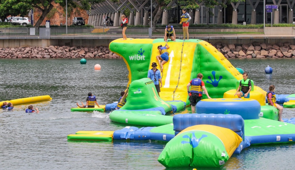 Aquapark at Darwin Waterfront, NT, (5)