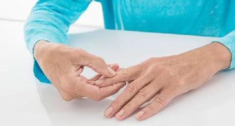 hand und schulter bei diabetes