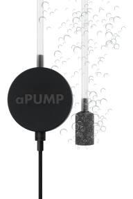 Бесшумный аквариумный компрессор для подачи воздуха в аквариум aPUMP