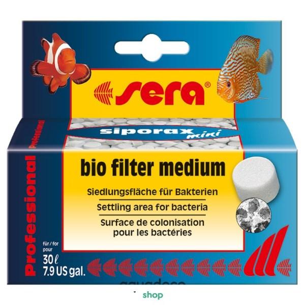 Sera siporax ® mini - наповювач для фильтров биологический 35 г: купить в Киеве с доставкой
