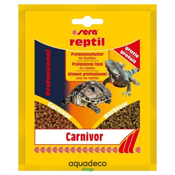 Sera reptil Profess. Carnivor - корм для плотоядних рептилий 20 g: купить в Киеве с доставкой