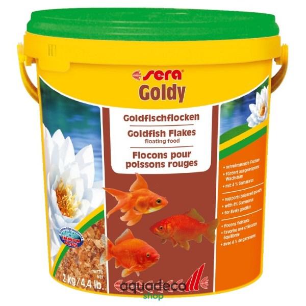 Sera goldy - корм для золотых рыбок. Хлопья 10000 мл: купить в Киеве с доставкой