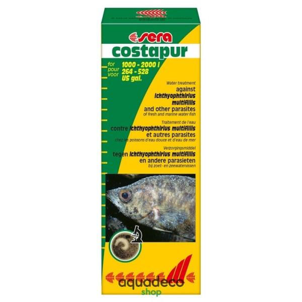 Sera costapur - борьба со шк. паразитами в пресно. и мор. рыб