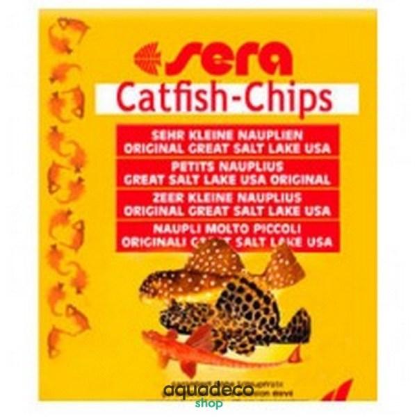 Sera Catfish Chips - корм для сомиков. Чипсы 15 г: купить в Киеве с доставкой