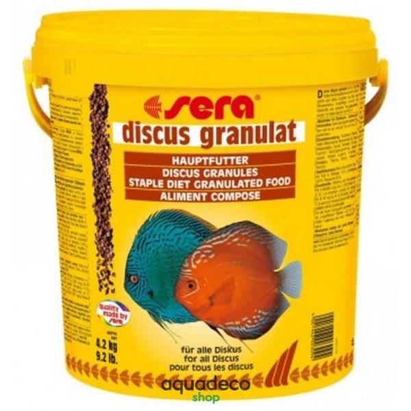Sera discus granules - корм для дискусов. Гранулы 10000 мл: купить в Киеве с доставкой
