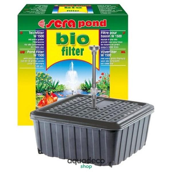 Sera pond Teichfilter W 1500 - биофильтр ставке.