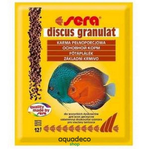 Sera discus granules - корм для дискусов. Гранулы 12 г: купить в Киеве с доставкой