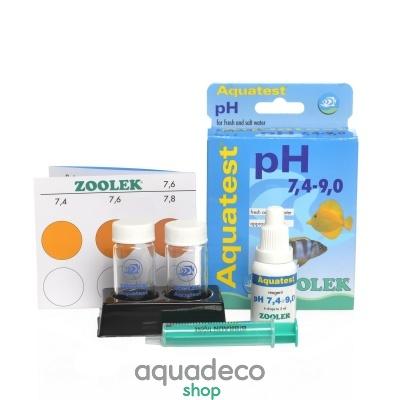 Купить Тест pH (7,4-9,0) Zolek Aquatest pH 7,4-9,0 в Киеве с доставкой по Украине