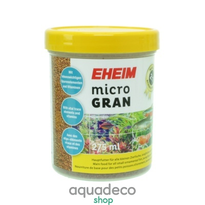 Купить Основной корм для всех тропических мелких рыб, малька и креветокв гранулах EHEIM microGRAN 275мл (4924210) в Киеве с доставкой по Украине