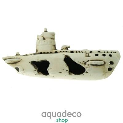 Купить Грот керамический Aqua Nova крушение подводной лодки 25x11x8 cм в Киеве с доставкой по Украине