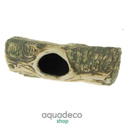 Купить Грот керамический Aqua Nova бревно 23x7,5x9cм в Киеве с доставкой по Украине