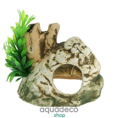 Купить Грот керамический Aqua Nova пещера 12,5 x 10,5см в Киеве с доставкой по Украине