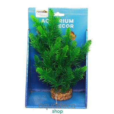 Купить Искусственное растение Yusee Роголистник 20см в Киеве с доставкой по Украине