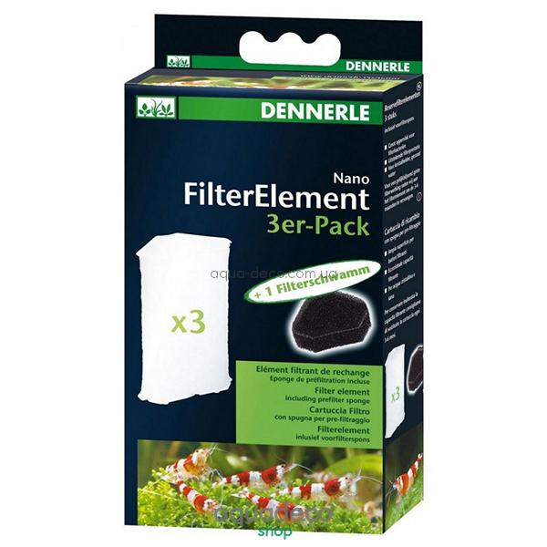 Сменный фильтрующий элемент для фильтра Nano Clean Eckfilter (3 шт.) + губка предварительной фильтрации: купить в киеве, цена, фото, обзор, инструкция. Aqua-Deco.com.ua