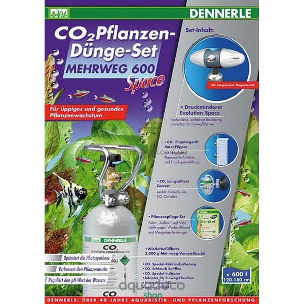 Комплект для удобрения растений CO2 MEHRWEG  600 Space: купить в киеве, цена, фото, обзор, инструкция. Aqua-Deco.com.ua