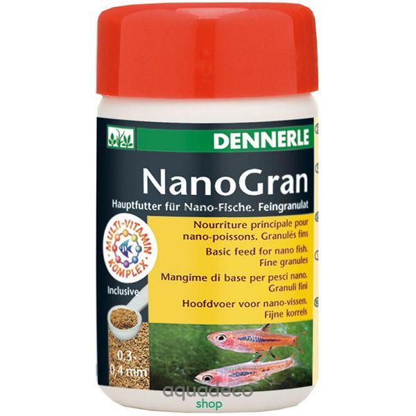 Основной корм в форме мини-гранул для небольших рыб Nano Gran, 100 мл: купить в киеве, цена, фото, обзор, инструкция. Aqua-Deco.com.ua