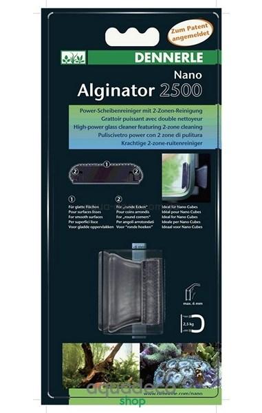 Магнитный скребок для нано-аквариумов NANO Alginator: купить в киеве, цена, фото, обзор, инструкция. Aqua-Deco.com.ua