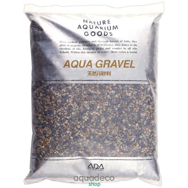 ADA Aqua Gravel S 15kg натуральный грунт для аквариума 106-5012 - aqua-deco.com.ua