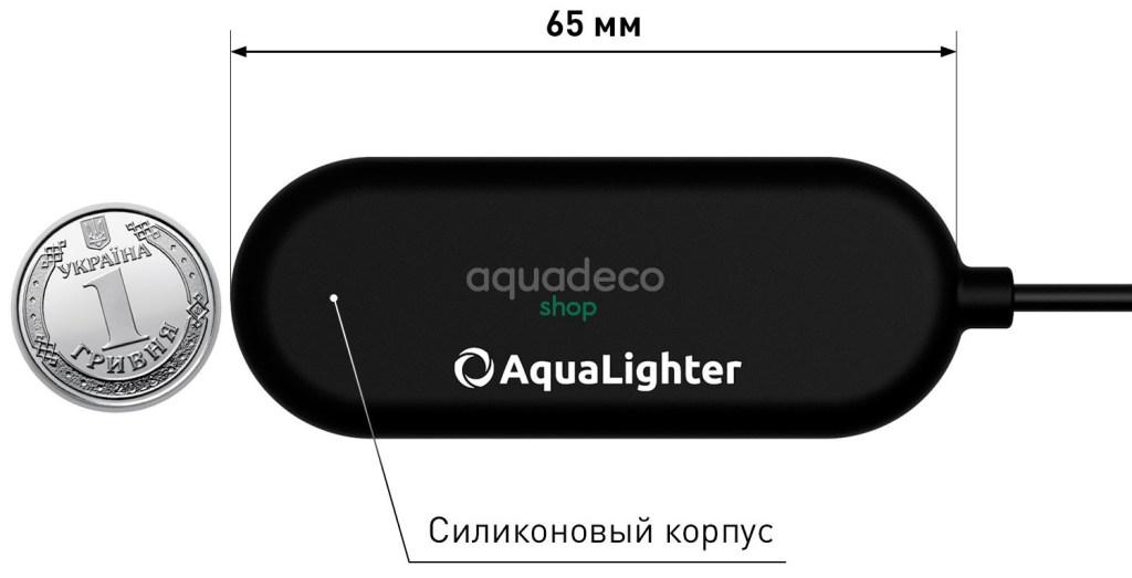 AquaLighter PicoTablet - LED светильник для пресноводных аквариумов до 10 л. picotablet 6 1 AquaDeco Shop