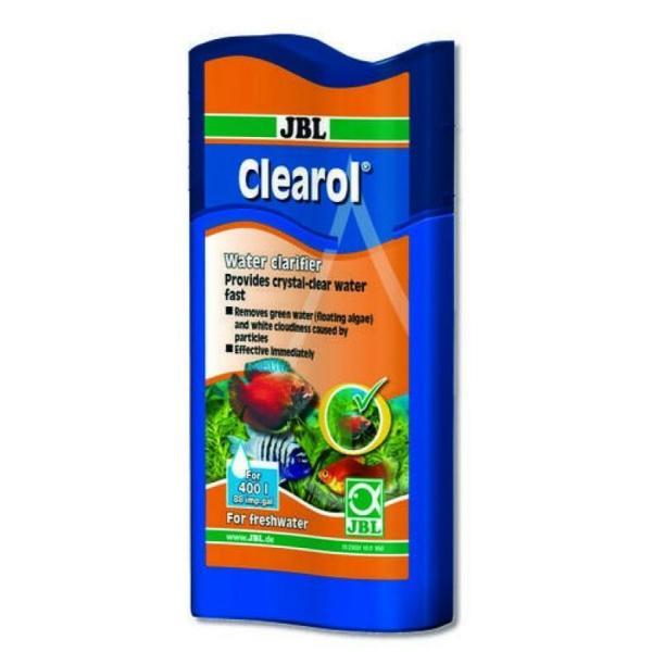 Кондиционер JBL Clearol для кристально чистой воды в пресноводных аквариумах