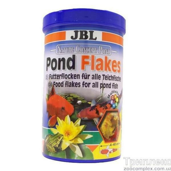 JBL Pond Flakes корм для прудовых рыб, 10,5 л