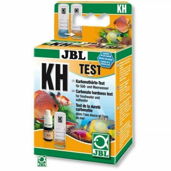 Экспресс-тест JBL KH Test для определения карбонатной жёсткости в пресноводных/морских аквариумах и прудах: купить в Киеве