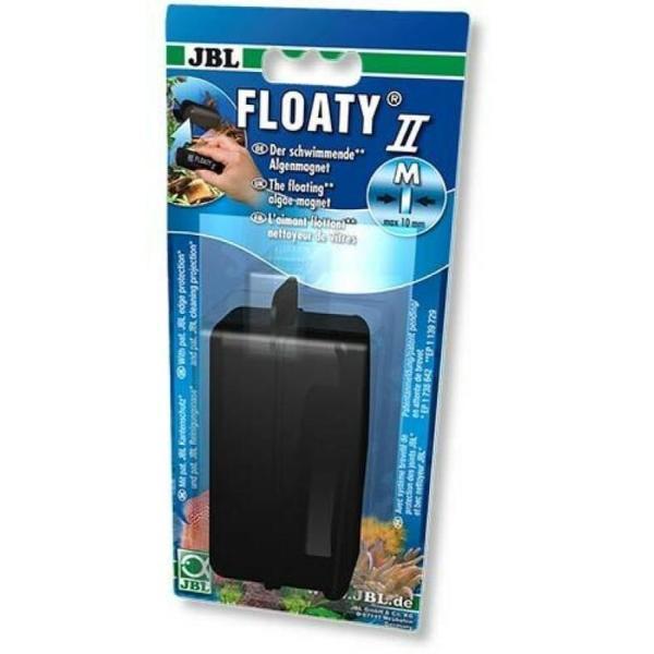 Плавающий магнитный скребок JBL Floaty II M для аквариумных стекол до 10 мм: купить в Киеве