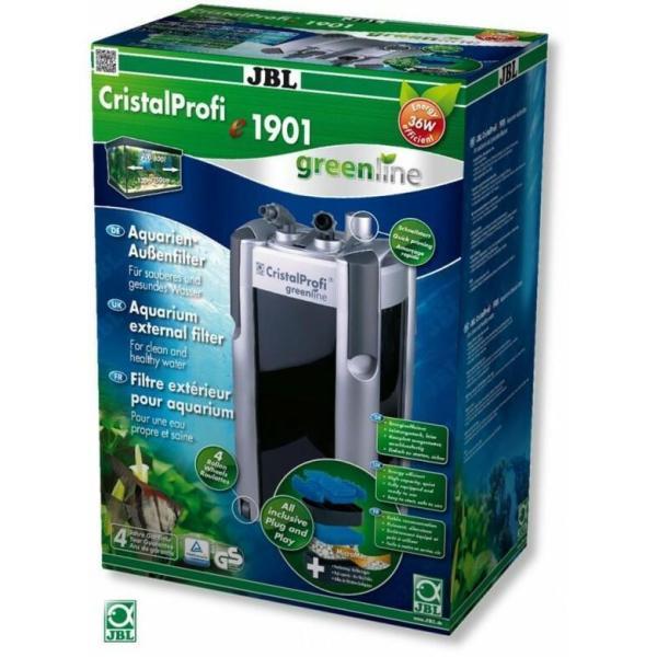 Внешний фильтр JBL CristalProfi e1901 greenline для аквариумов 200-800 л: купить в Киеве