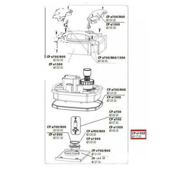 JBL Запасная часть мотор для фильтра е1500.